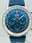 Estate ~ Breitling NAVITIMER 1 B01 46 Chronograph Rubber Automatic Watch AB0127