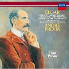 ANDRE PREVIN-ELGAR: 'ENIGMA' VARIATIONS. POMP AND CIRCUMSTANCE-JAPAN From japan