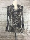 Womens Style And Company Browns Animal Print Size 12