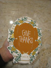 Happy Everything Coton Colors Large Attachment Give Thanks Turkey EUC