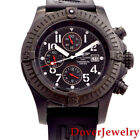 Breitling Avenger II Black Chronograph Steel Automatic Watch $5,635.00