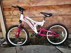 Muddyfox Radar 20 Inch Full Suspension Mountain Bike Girls