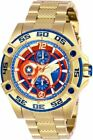 Invicta Women's Marvel Limited Edition Captain America Bolt Gold Watch 27019