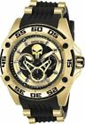 Invicta Marvel Limited Edition Women's Gold Punisher Bolt Watch 27034 43.5 mm