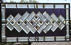 •SPECTRUM•Beveled Stained Glass Window Panel • 31 3/4