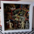 Ewok Action Figure Kenner Topps Card Back Box Framed Set Chief Chirpa Logray +
