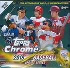 2018 Topps Update Chrome Baseball Factory Sealed Mega Box