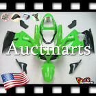For Kawasaki Ninja ZZR600 2003-2008 Fairing Bodywork ABS Green Black 3r6 XS