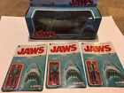 FUNKO REACTION JAWS FIGURE SET LOT SHARK BRODY HOOPER QUINT UNPUNCHED CARDS! NEW
