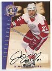 Dino Ciccarelli 2001-02 Be A Player Signature Series Vintage Autograph KCCS920