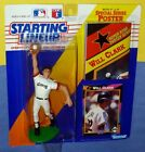 1992 WILL CLARK final San Francisco Giants NM+ FREE s/h Starting Lineup + poster