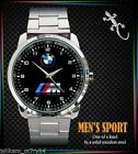 NEW EDITION !BMW M3 M5 MPOWER M4 M POWER HOOD LOGO MENS NEW SPORT METAL WATCH