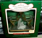 Miniature Creche`1988`Collectors,4Th n Creche Series-Hallmark Christmas Ornament