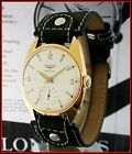 VTG Longines Sport Chief 7913-1 Cal. 30L 35mm 20M Gold Plated Men's Watch Boxed!