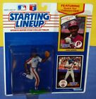1990 JUAN SAMUEL 1st & only New York Mets -FREE s/h- Starting Lineup + 1984 card