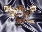 Vintage historic Old Fashion On the Rock glass set of six