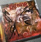 KREATOR – Gods Of Violence – FULLY SIGNED by all 4 members! – 1st press – COA