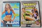 The Biggest Loser The Workout Boot Camp Lot Jillian Michaels 6 Week Pack Abs DVD
