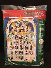 Dimensions Feltworks NATIVITY ADVENT CALENDARJeweled Felt Applique Kit NEW NIP