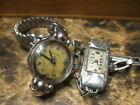 VINTAGE LOT OF 2 QUALITY  WOMEN'S  WATCHES-MOVADO;A.LECOULTRE