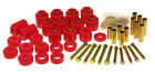 Prothane for 87 96 Jeep YJ 1in Lift Body Mount Kit Red pro1 113