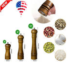 Classic Leeseph 5 8 10 Salt and Pepper Grinders Large Refillable Wooden Mill