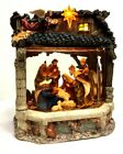Musical Lighted Nativity Away In the Manger Snow Globe Water Window Kirkland