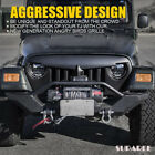 Angry Birds Grill Front Grille For Jeep Wrangler TJ 1997 2006 G2 Black Grill US