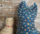Rare VTG Stuffed Printed Fabric Cat Calico Cloth Rag Doll Toy Pillow Decor Lot