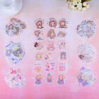 40Pcs bag lovely girls mini paper stickers DIY book diary scrapbooking stickerRS