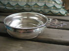 Vintage Sterling Silver Web Porringer Bowl Pierced Handle 87 Grams Solid Silver