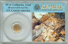 49er CALIFORNIA GOLD DUST RECOVERED FROM THE SS CENTRAL AMERICA SHIPWRECK
