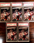 SHAQUILLE O'NEAL 1992-93 Stadium Club #247 (RC) PSA 8 LOT OF FIVE (5) CARDS