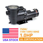 1HP 110 120V In Ground Swimming Pool Pump Motor Strainer Above Ground UL Listed
