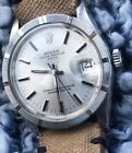 Mens Rolex 1501 Oyster Perpetual Date Watch RARE SIGMA DIAL w/ BLACKOUT Markers!