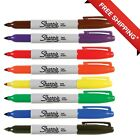 Sharpie Fine Permanent Markers Assorted Colors Set of 8 FREE SHIPPING
