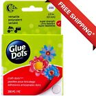 Glue Dots Craft Dots Adhesive 1 2 Inch Clear Roll of 200 FREE SHIPPING