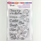 Stampendous Encouraging Words Clear Stamp Set Sympathy Prayers Thinking Of You