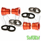 RFX F&R Wheel Spacers, Bearings & Seals fit KTM 500 525 EXC-F 03-15 530 Orange