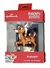 HALLMARK 2018 RUDOLPH THE RED-NOSED REINDEER CHRISTMAS ORNAMENT~NEW IN BOX