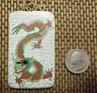 Antique Chinese Cloisonne Enamel  Pendant