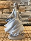 Lladro Figurine 4828 Cinderella, Mint, Retired, Disney Princess Slipper. No Box.