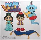 Make a Wish Set Premade Paper Piecing Embellishment Die Cut by Babs