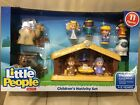 New  Little People Christmas Nativity Scene Lot Set 11 Figures Baby Jesus