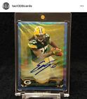 Top 10 Topps Chrome Football Rookie Autographs 25