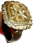 Post-Medieval Seal Ring with Stylized Fleur-de-lis