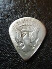 GENUINE HANDMADE COIN GUITAR PICK REAL SILVER HALF DOLLAR COOL