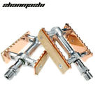 Bike Pedals Set Bearing Retro Design Wood Fixed Gear Bicycle Parts Accessories