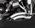 Vance  Hines 26071 Big Radius 22 Exhaust System Chrome Harley Davidson Dyna