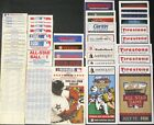 1970-2014 COMPLETE SET (45) LOT MLB ALL-STAR GAME BASEBALL BALLOT ONE EACH YEAR